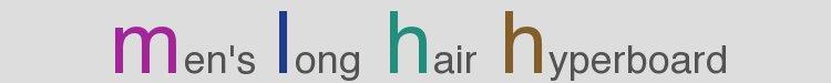 Men's Long Hair Hyperboard logo
