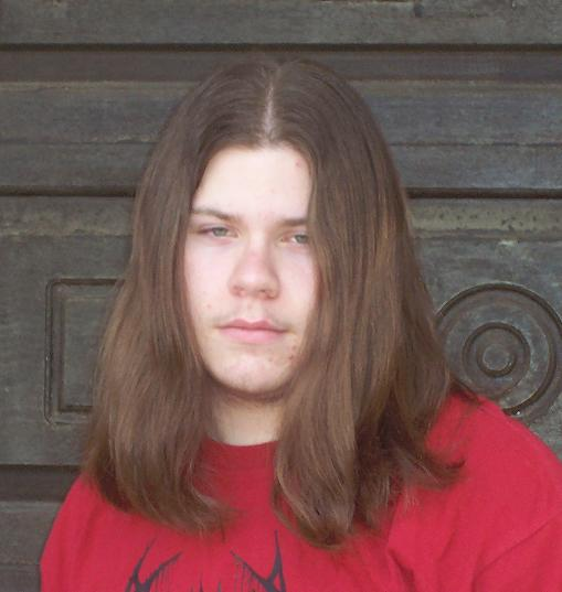 ugly guy with long hair